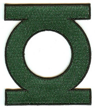 Green Lantern Iron-On Patch Symbol Logo