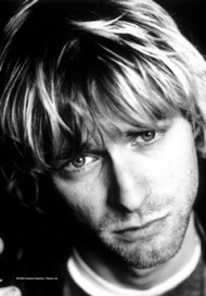 Kurt Cobain Poster Flag Face Photo Tapestry