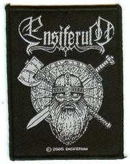 Ensiferum Sew On Patch Face Logo