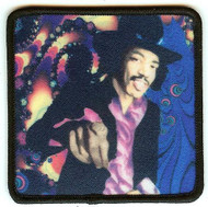 Jimi Hendrix Iron-On Patch Hey You