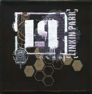 Linkin Park Iron-On Patch Honeycomb Logo