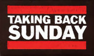 Taking Back Sunday Iron-On Patch Letters Logo