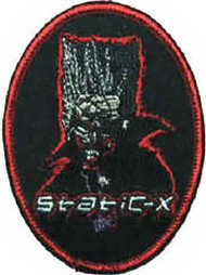 Static-X Iron-On Patch Oval Logo