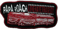 Papa Roach Iron-On Patch Tragedy Logo