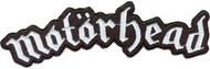 Motorhead Iron-On Patch White Letters Logo