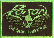 Poison Iron-On Patch Old School Rock And Roll Logo