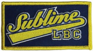 Sublime Iron-On Patch Rectangle LBC Logo
