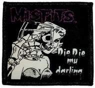 Misfits Iron-On Patch Die Die My Darling Logo