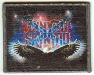 Lynyrd Skynyrd Iron-On Patch Rectangle Eagle Logo