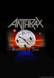 Anthrax Poster Flag Persistence Of Time Logo Tapestry