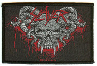 Slayer Sew On Patch Bloody Skull Logo