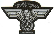 Motorhead Sew On Patch Wings Logo