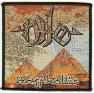 Nile Sew On Patch Ithyphallic Pyramid Logo