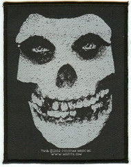 Misfits Sew On Patch Classic Skull