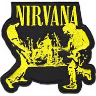 Nirvana Iron-On Patch Live Logo