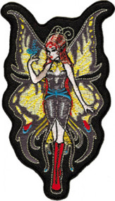 Shanna Trumbly Iron-On Patch Swallow Tail Fairy