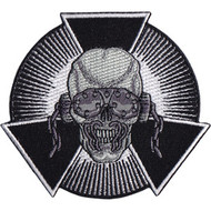 Megadeth Iron-On Patch Skull Burst Logo