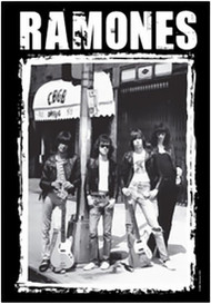 The Ramones Poster Flag CBGB's Photo Tapestry