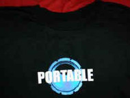 Portable T-Shirt Secret Life Black Size Large