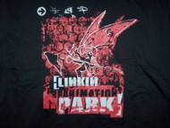 Linkin Park T-Shirt Reanimation Black Size XXL