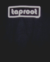 Taproot T-Shirt White Logo Tour Black Size XL