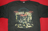 Stone Sour T-Shirt Refuse To Die Black Size Medium