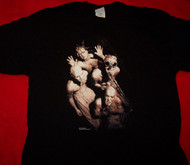 Mudvayne T-Shirt Primal Muddy Group Black Size XL