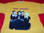 Coal Chamber T-Shirt Band Photo Yellow Size XL