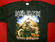 Iced Earth T-Shirt Framing Armageddon Black Size Small