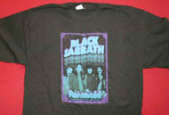 Black Sabbath T-Shirt Paranoid Newcastle Black Size XL