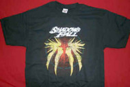 Shadows Fall T-Shirt Baphomet Black Size Large