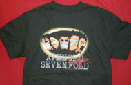 Avenged Sevenfold T-Shirt Gagged Black Size XL