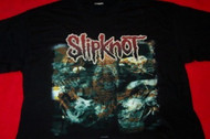 Slipknot T-Shirt Iowa Bones Black Size XL