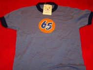 Grateful Dead Ringer T-Shirt Circle 65 Blue Size Youth Large
