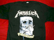 Metallica T-Shirt Summer Soiree Black Size Medium