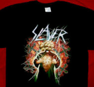 Slayer T-Shirt Electric Logo Black Size XL