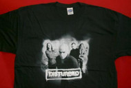 Disturbed T-Shirt Chamber Photo Logo Black Size XL