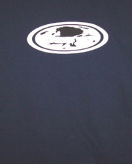 Staind T-Shirt Oval Logo Navy Blue Size Medium