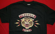 Deftones T-Shirt Tiger Tour 2006 Black Size Medium