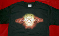 HIM T-Shirt Tribal Logo Black Size Small