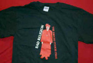 Bad Religion T-Shirt Priest Logo Black Size XL