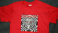 Mars Volta T-Shirt Red Eyes Size Small