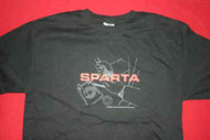 Sparta T-Shirt Phone Logo Black Size Large