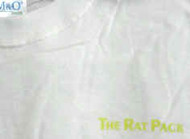 Rat Pack T-Shirt Sinatra Martin Davis White Size Small