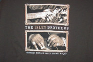 Isley Brothers T-Shirt Guitar Logo Brown Size XL