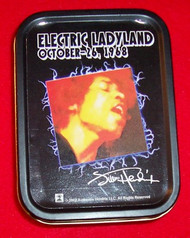 "Jimi Hendrix Metal Tin Electric Ladyland 3"" x 4"""