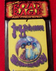 Jimi Hendrix Car Air Freshener Are You Experienced