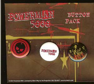 Powerman 5000 Three Button Set