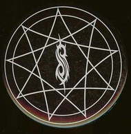 Slipknot Round Magnet Tribal Star Logo