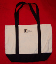 Tribeca Film Festival Tote Bag Beige Black Logo